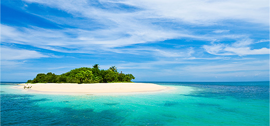 Island Paradise guided meditation - For rapid relaxation